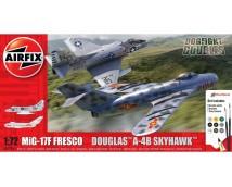 Airfix 1:72 MiG-17F Fresco  Douglas A-4B Skyhawk      A50185