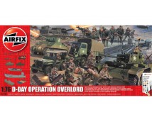 Airfix 1:76 D-Day Operation Overlord Complete Set incl. Verf en Lijm     A50162A