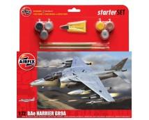 Airfix 1:72 BAe Harrier GR9A STARTER SET incl. lijm verf en kwasten     A55300