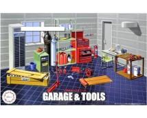 Fujimi 1:24 Garage and Tools      115054