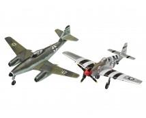 Revell 1:72 Me262 and P-51B Combat Set    03711