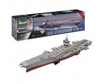 Revell 1:400 USS Enterprise CVN-65 Platinum Edition     05173