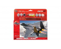 Airfix 1:72 McDonnell Douglas F-15E Eagle Starter Set     A55311