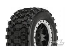 Proline MX43 Badlands X-MAXX  with Impulse Beadlock wheels 2 stuks  10131-13