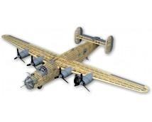 1:28 Guillows B-24D Liberator 122cm Houten vliegtuig kit