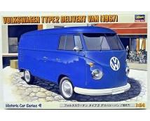 Hasegawa 1:24 Type 2 VW Bestelwagen 1967        HAS621209