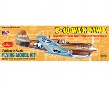 Guillows Curtiss P-40 Warhawk 42cm