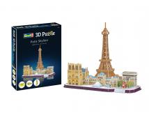 Revell Paris Skyline 3D Puzzle
