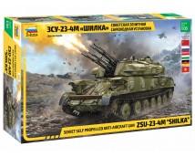 "Zvezda 1:35 ZSU-23-4M ""SHILKA""  Soviet Self Propelled Anti Aircraft Gun      3635"