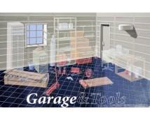 Fujimi 1:24 Car Garage Diorama     115047