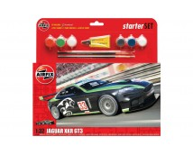 Airfix 1:32 Jaguar XKR GT3  Starter Set incl. lijm en verf     A55306