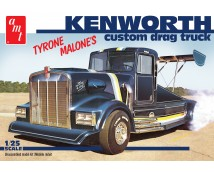AMT 1:25 Kenworth Tyrone Malone's Custom Drag Truck (Black)     AMT1157/06