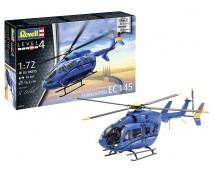 Revell 1:72 EC145 Builder's Choice Helicopter MODEL SET    63877