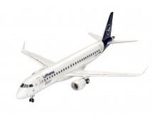 Revell MODEL SET Embrear 190 Lufthansa 1:144     63883