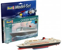 Revell 1:1200 Queen  Mary 2 MODEL SET    65808