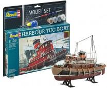 Revell 1:108 Harbour Tug Boat MODEL SET     65207