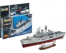 Revell 1:700 HMS Invincible (Falkland War) MODEL SET    65172