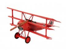 Revell 1:72 Fokker Dr.1 Triplane MODEL SET    64116