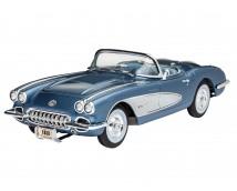 Revell 1:25 Corvette Roadster 1958 MODEL SET     67037