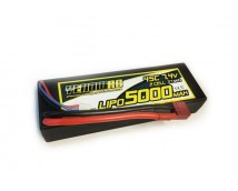 Yellow RC LiPo 7,4V 5200mAh 50C Hardcase Deans Stekker     YEL2652