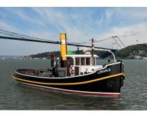 """Turk Model 1:20 Sleepboot """"LIMAN 2""""  ( XL Radiografisch Voorbereide versie )"""