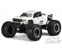 Proline Brute Bash Body X-MAXX White Pre-Cut     PR3513-17