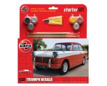 Airfix 1:32 Triumph Herald Starter Set incl. lijm verf kwasten     A55201