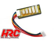 HRC Balance Board Lader - XH stekkers 2-6S LiPo
