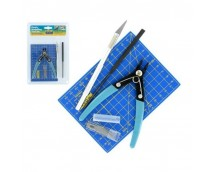 Model Craft Plastic Model Toolset 9 Delig        PTK1009