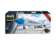 Revell 1:144 Boeing 747-8F Cargolux LX-VCF Facemask (Ltd. Edition)    03836