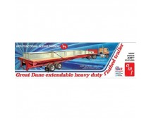 AMT 1:25 Great Dane Extendable Heavy Duty Flatbed Trailer     AMT1111/06