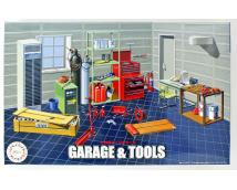 Fujimi 1:24 Garage and Tools Set        116358