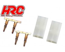 HRC Tamiya Connectors Male (Model/Lader) 2pcs