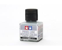 Tamiya Panel Line Accent Color Light Grey 40ml      87189