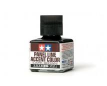 Tamiya Panel Line Accent Color Dark Brown 40ml    87140