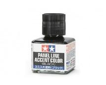 Tamiya Panel Line Accent Color BLACK    87131