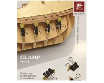 Amati Clamp Set for Model Ship Planking      7377