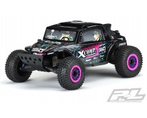 Proline Megalodon Desert Buggy Tough Color Body ZWART, Traxxas Slash 2WD en 4WD      3563-18