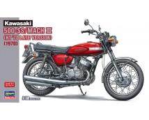 Hasegawa 1:12 Kawasaki 500-SS Mach III H1 '70 Late Version        21731