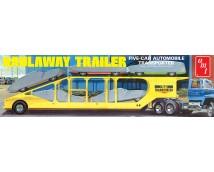 AMT 1:25 Haulaway Trailer 5 Car Auto Transporter     AMT1193/06