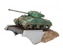 Revell 1:76 Sherman FireFly Diorama MODEL SET incl lijm en verf        03299