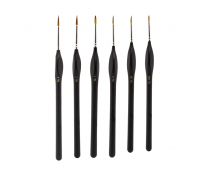 Model Craft Fine Quality Synthetische Kwastenset 6 stuks     PPB2300/S1