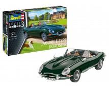Revell 1:24 Jaguar E-Type Roadster MODEL SET incl lijm, verf en kwasten        67687