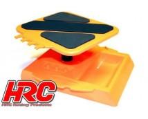 HRC Auto Standaard / Car Stand Oranje Draaibaar