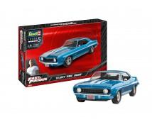 Revell 1:25 Fast and Furious '69 Chevy Yenko Camaro MODEL SET incl lijm verf kwasten        67694