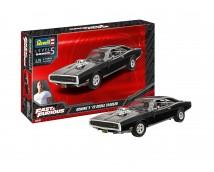 Revell 1:25 Dominic's '70 Dodge Charger MODEL SET incl. lijm verf kwasten         67693