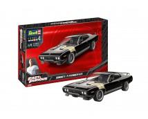 Revell 1:25 Dominic's '71 Plymouth GTX MODEL SET incl. verf lijm kwasten          67692
