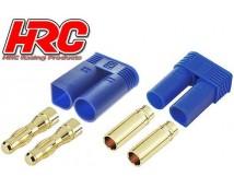 HRC EC5 Gold Connetoren Male + Female 1 paar