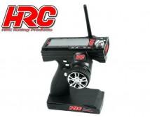 HRC 2,4Ghz LCD  Stuurwielzenderset 3 kanaals incl. ontvanger