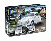 Revell 1:16 VW Kever 1951 TECHNIK met verlichting